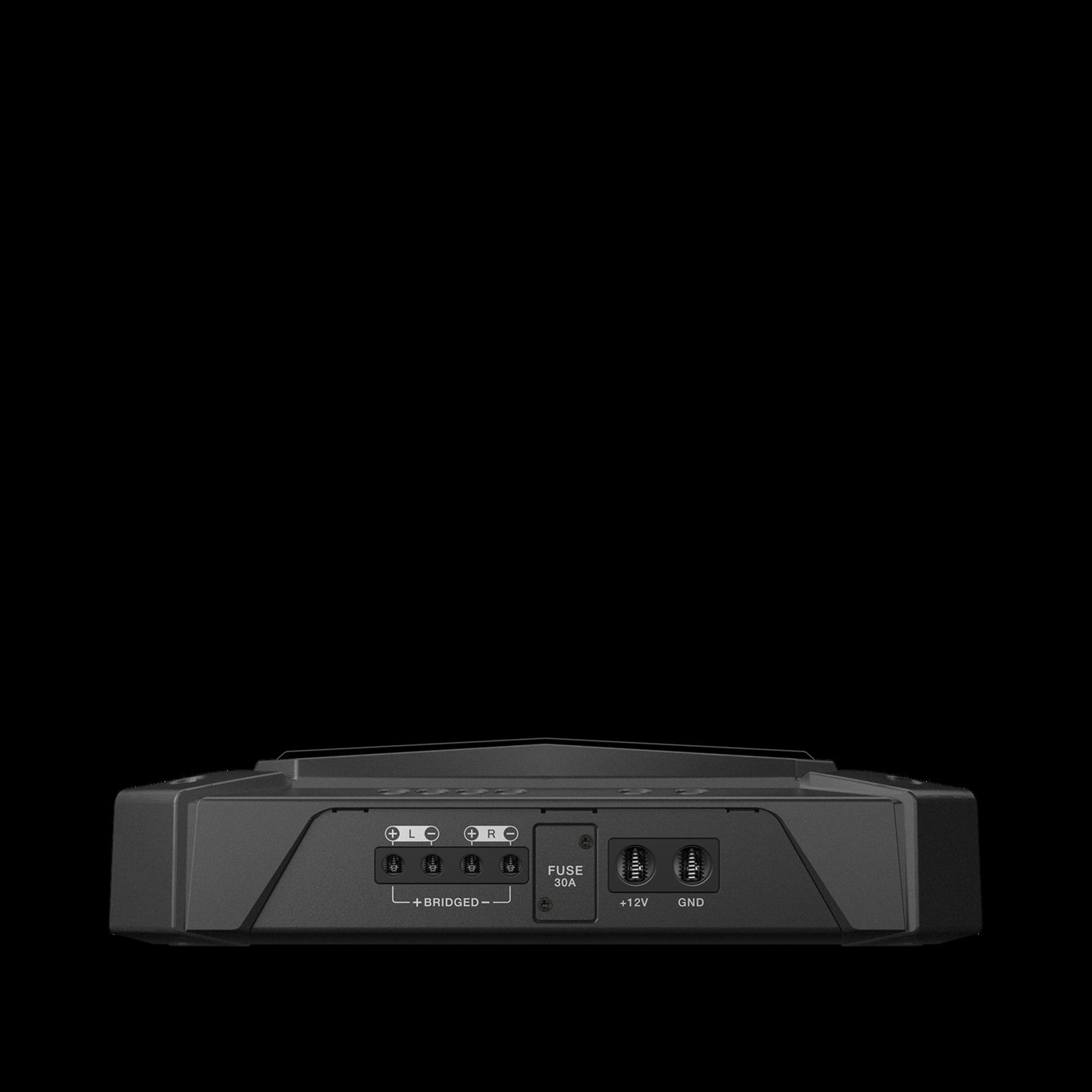 GTR-102 - Black - 2 Channel, 700W High Performance Car Amplifier - Detailshot 1