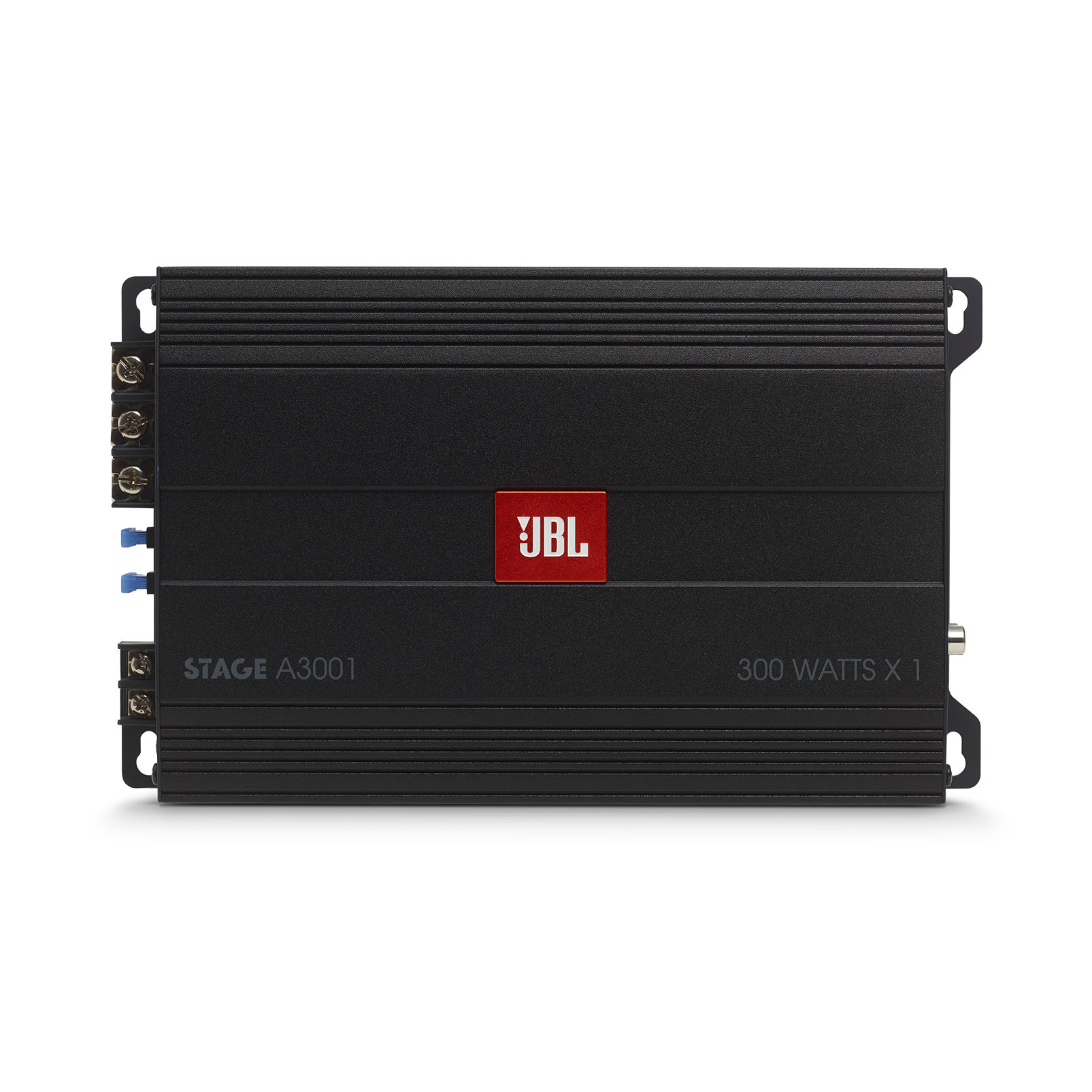 JBL Stage Amplifier A3001 - Black - Class D Car Audio Amplifier - Front