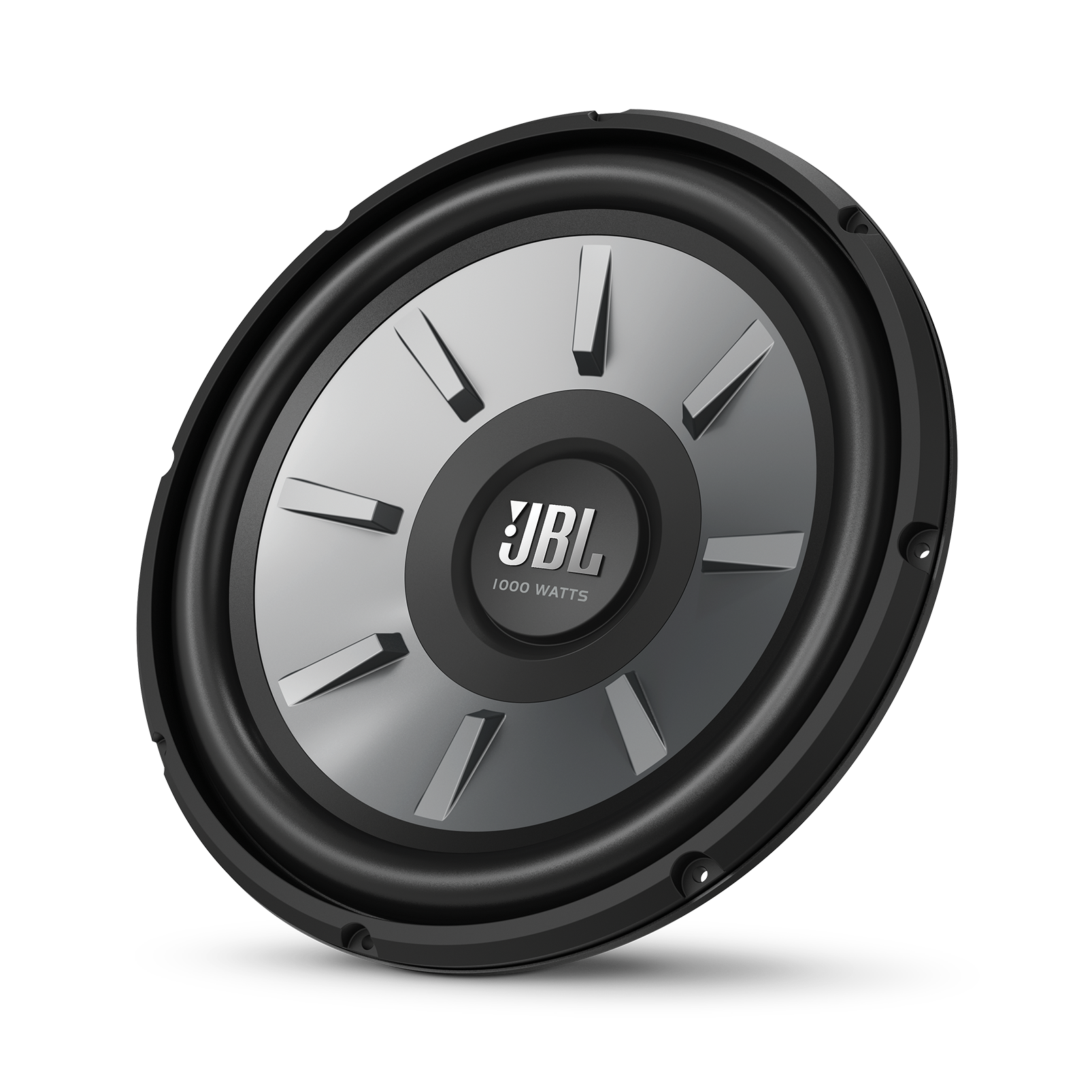 "JBL Stage 1210 Subwoofer - Black - 12"" (300mm) woofer with 250 RMS and 1000W peak power handling. - Hero"
