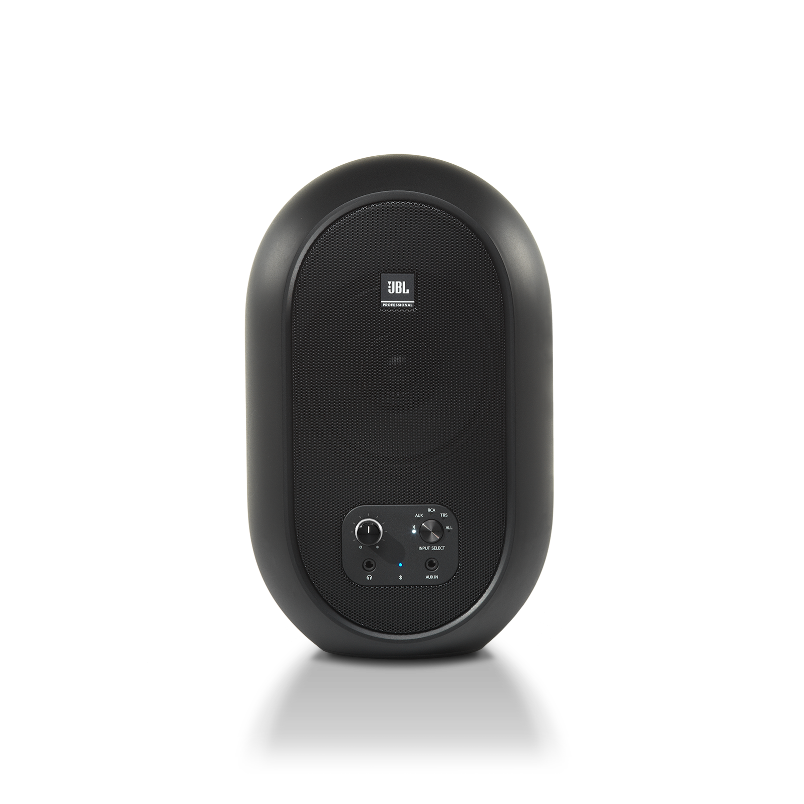 JBL 104-BT (Pair) - Black - Compact Desktop Reference Monitors with Bluetooth - Detailshot 2