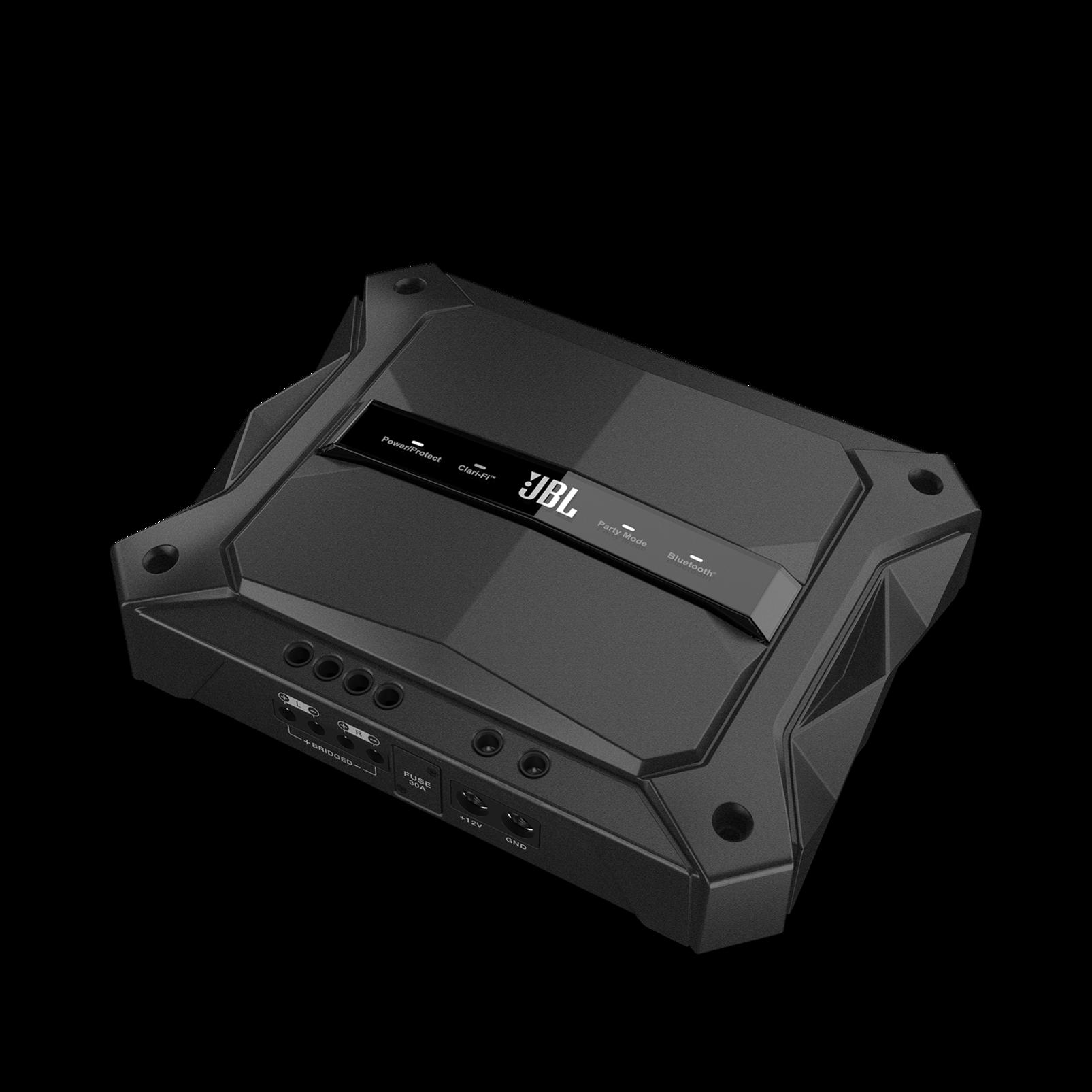 GTR-102 - Black - 2 Channel, 700W High Performance Car Amplifier - Hero