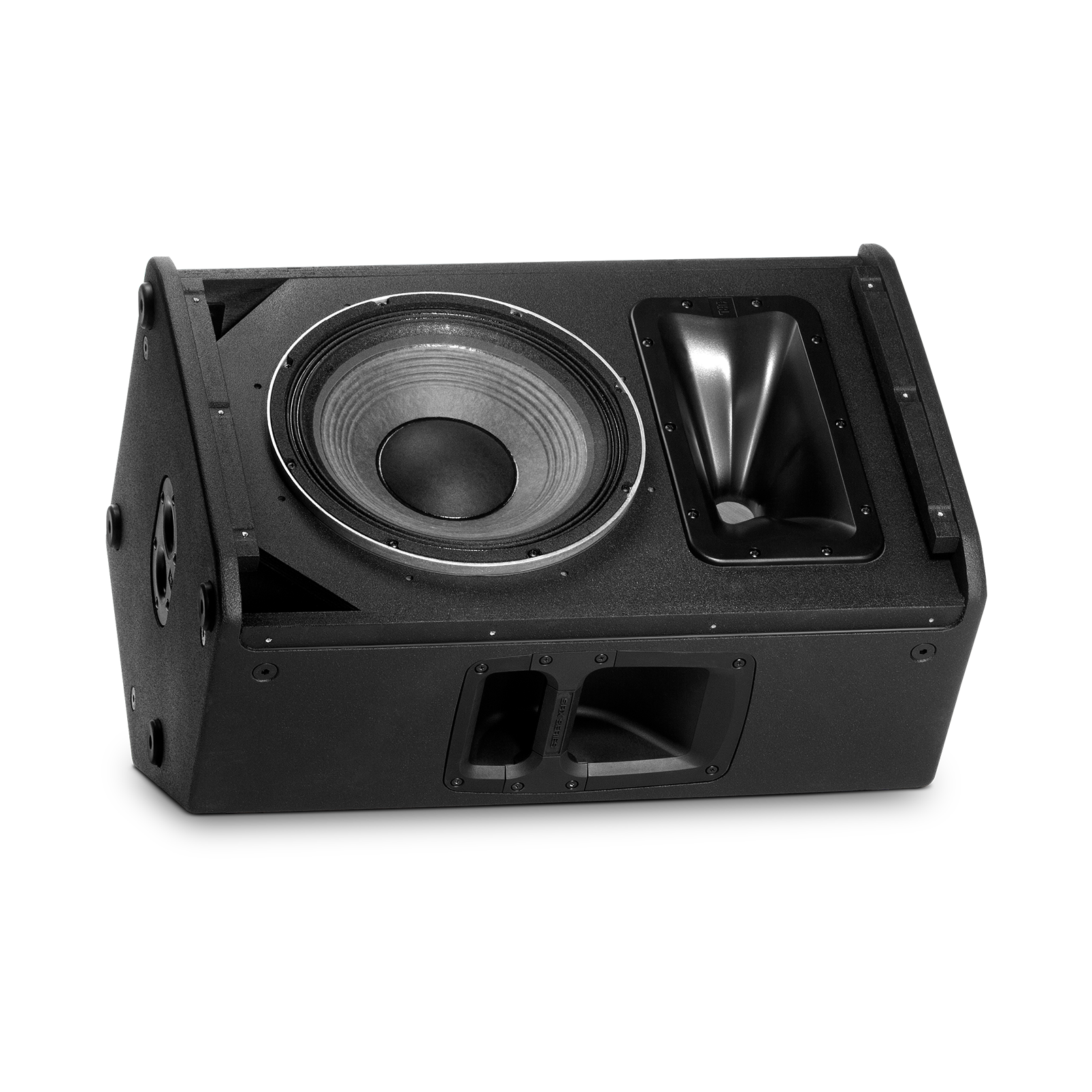"JBL SRX812P - Black - 12"" Two-Way Bass Reflex Self-Powered System - Detailshot 3"