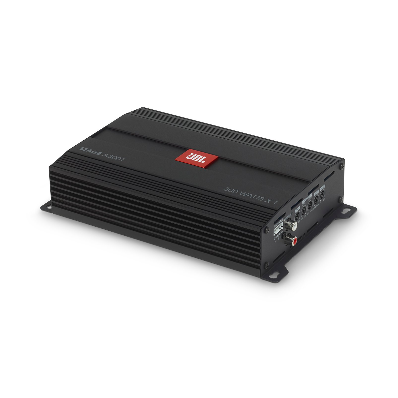 JBL Stage Amplifier A3001 - Black - Class D Car Audio Amplifier - Hero