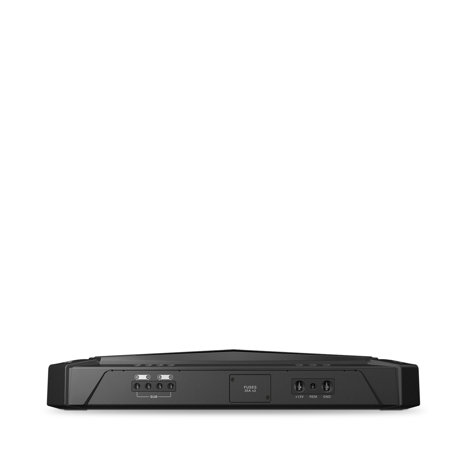 GTR-1001 - Black - Mono Channel, 2600W High Performance Subwoofer Amplifier - Detailshot 1
