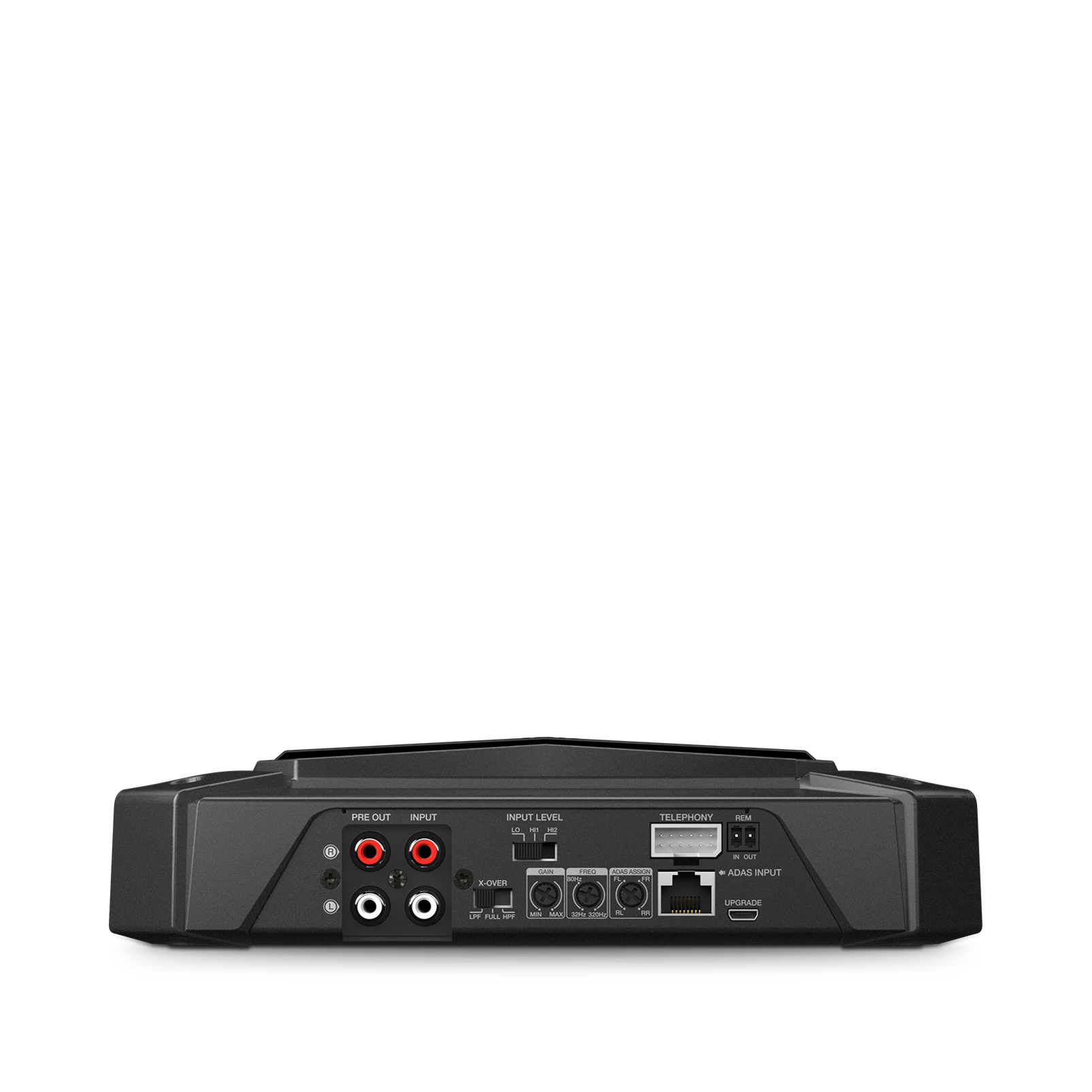 GTR-102 - Black - 2 Channel, 700W High Performance Car Amplifier - Detailshot 2