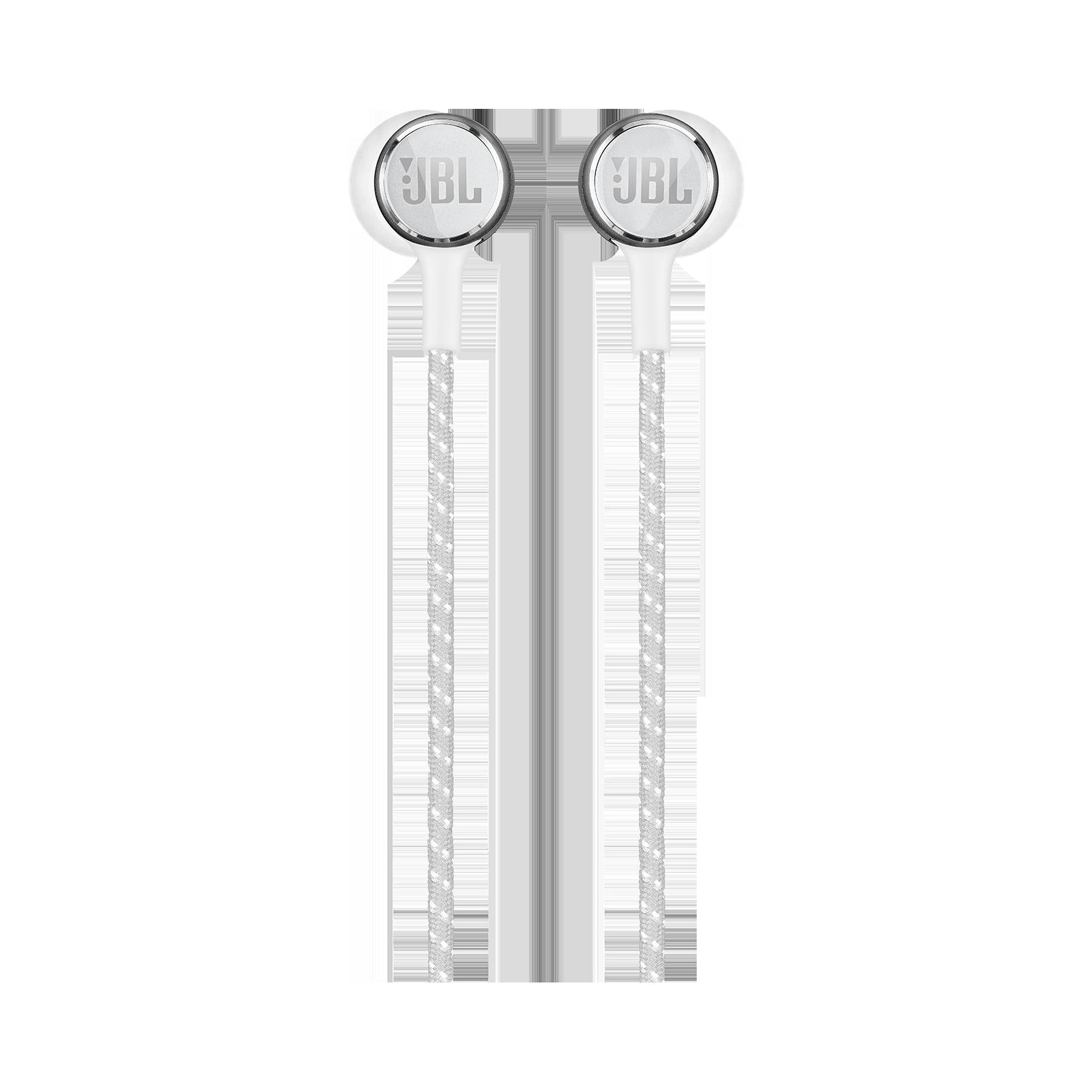 JBL LIVE 200BT - White - Wireless in-ear neckband headphones - Front