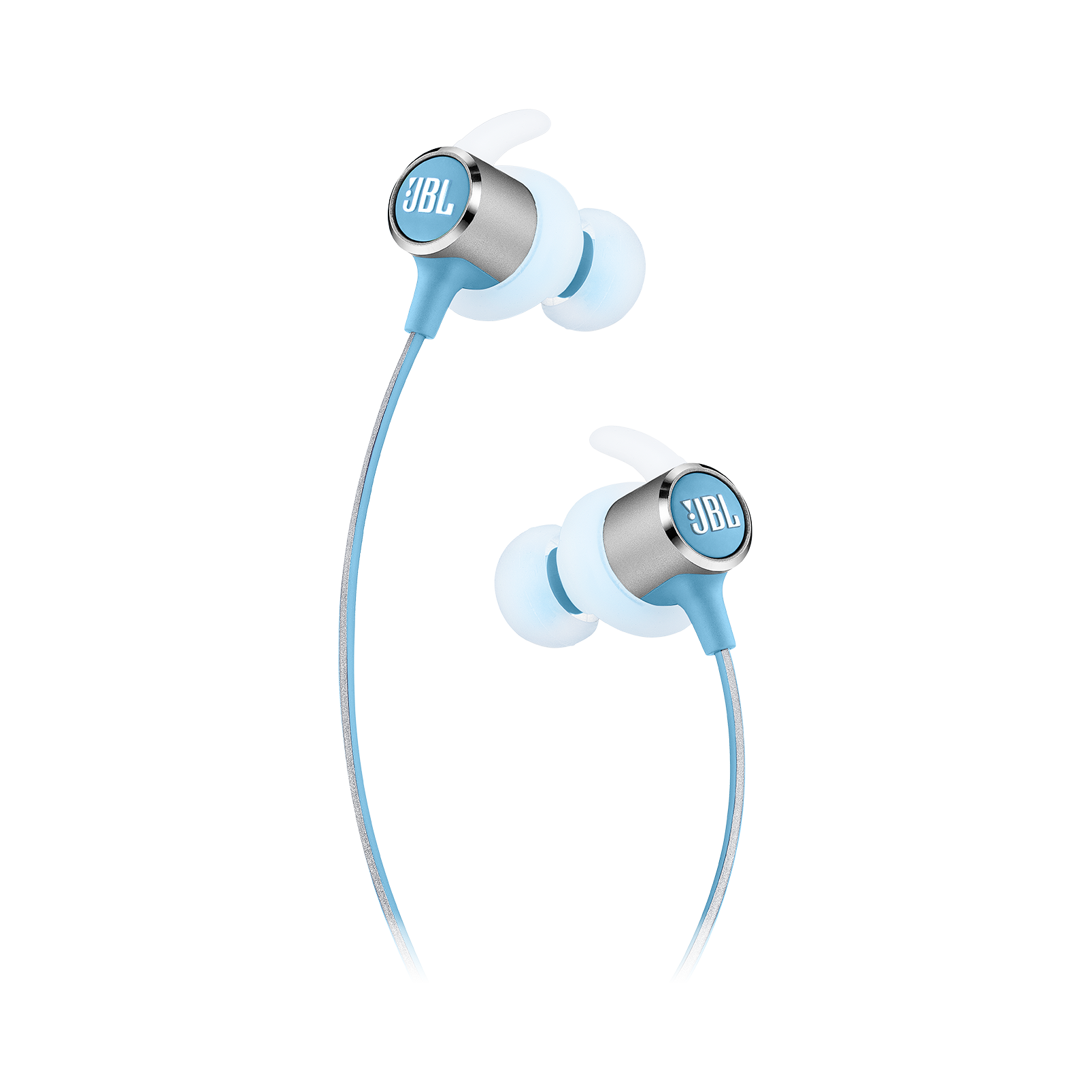 JBL REFLECT MINI 2 - Teal - Lightweight Wireless Sport Headphones - Detailshot 2