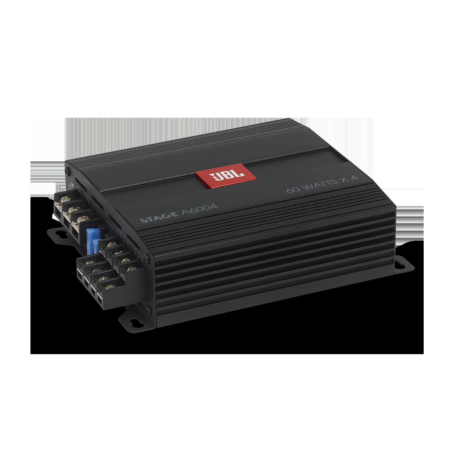 JBL Stage Amplifier A6004 - Black - Class D Car Audio Amplifier - Detailshot 2