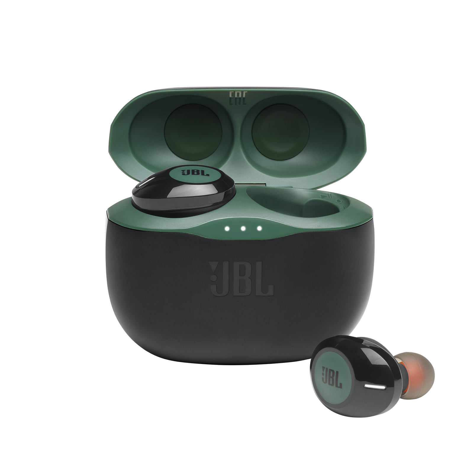 JBL Tune 125TWS - Green - True wireless in-ear headphones - Hero