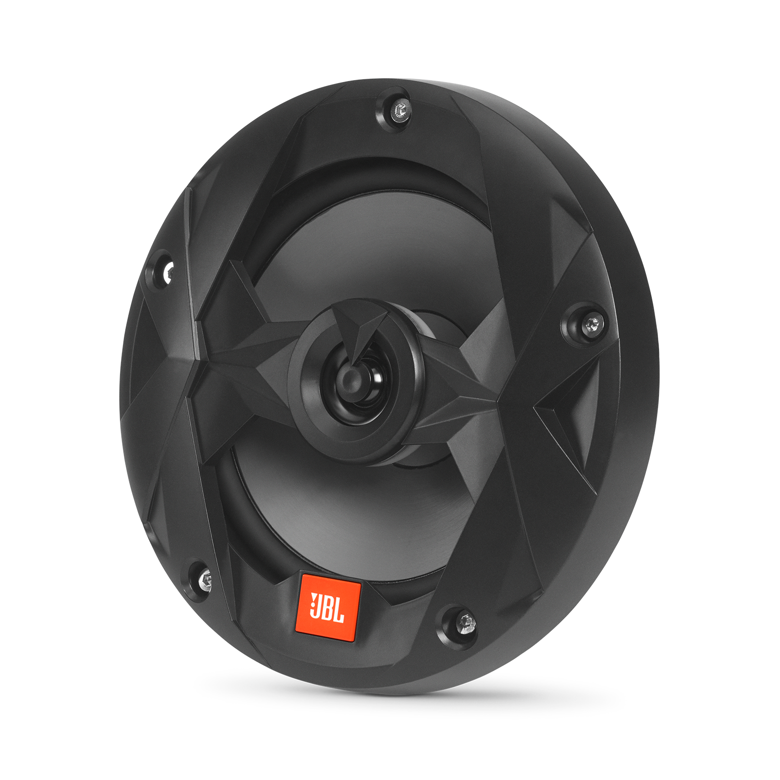 "Club Marine MS65LB - Black Matte - Club Marine MS65LB—6-1/2"" (160mm) two-way marine audio multi-element speaker with RGB lighting – Black - Hero"