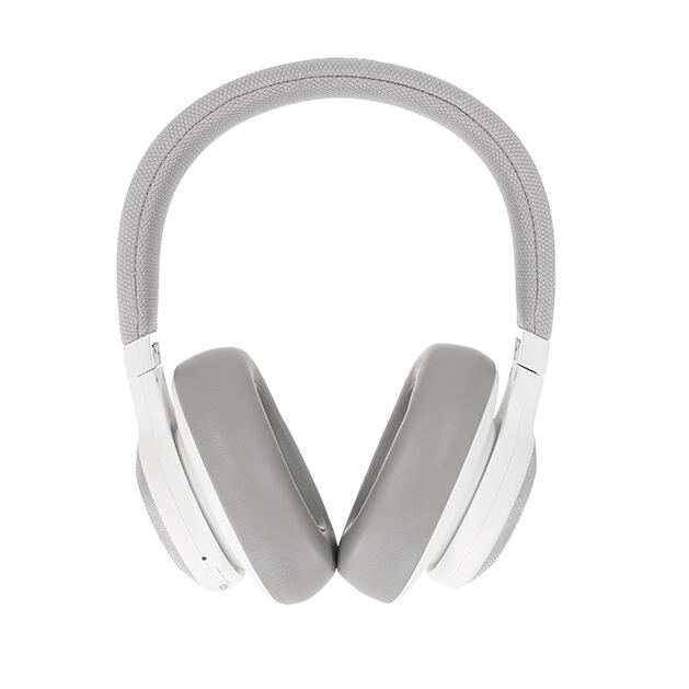 JBL E65BTNC - White - Wireless over-ear noise-cancelling headphones - Detailshot 15