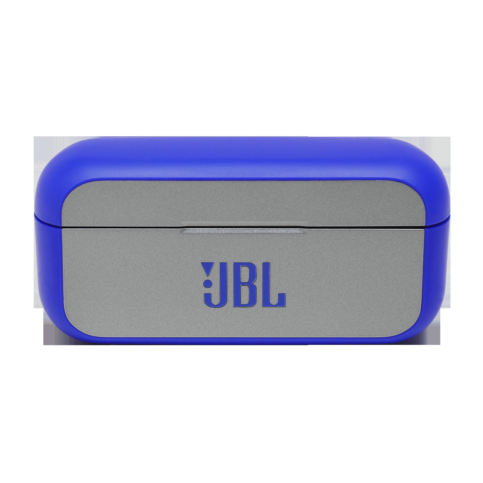 JBL REFLECT FLOW - Blue - True wireless sport headphones. - Detailshot 4