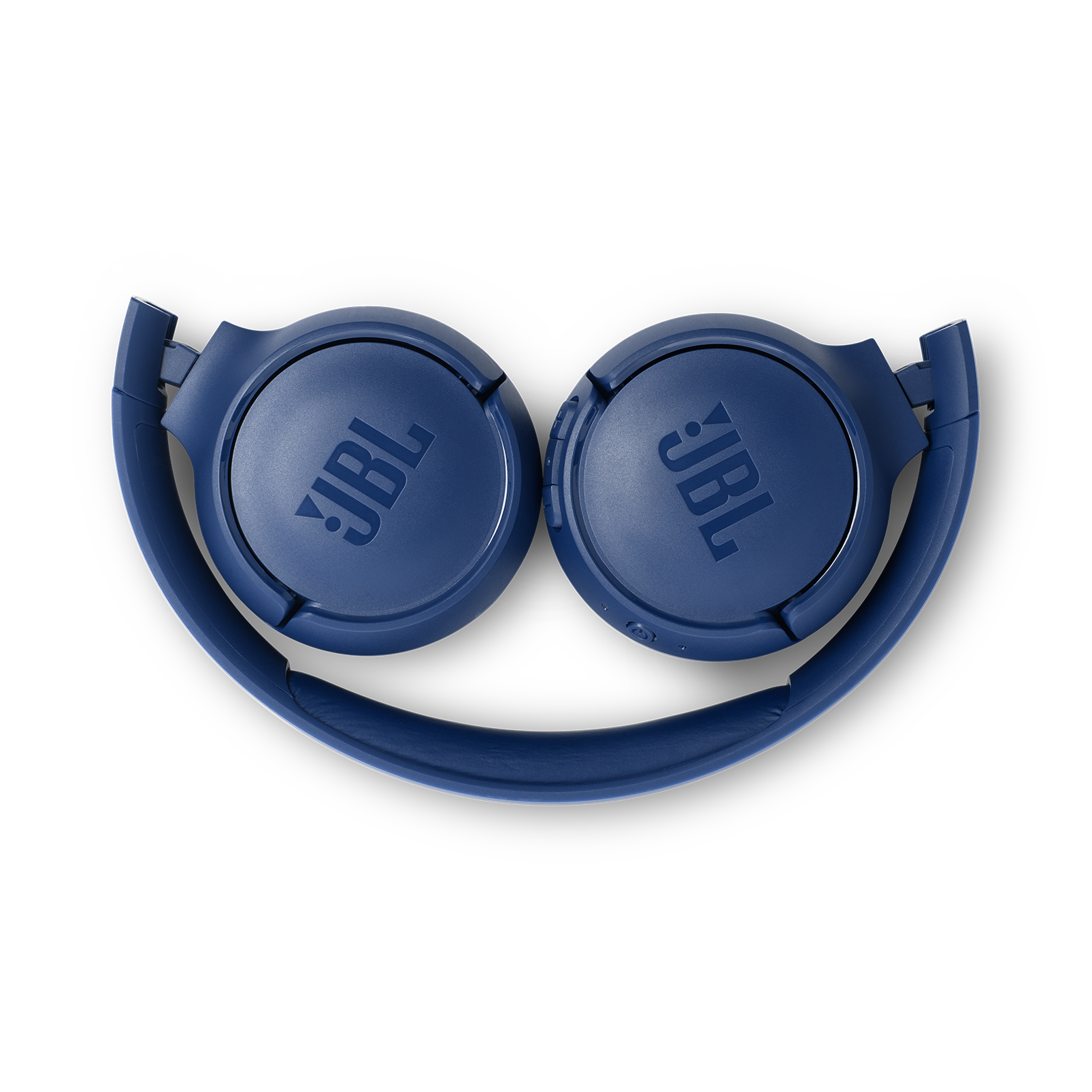 JBL TUNE 500BT - Blue - Wireless on-ear headphones - Detailshot 3