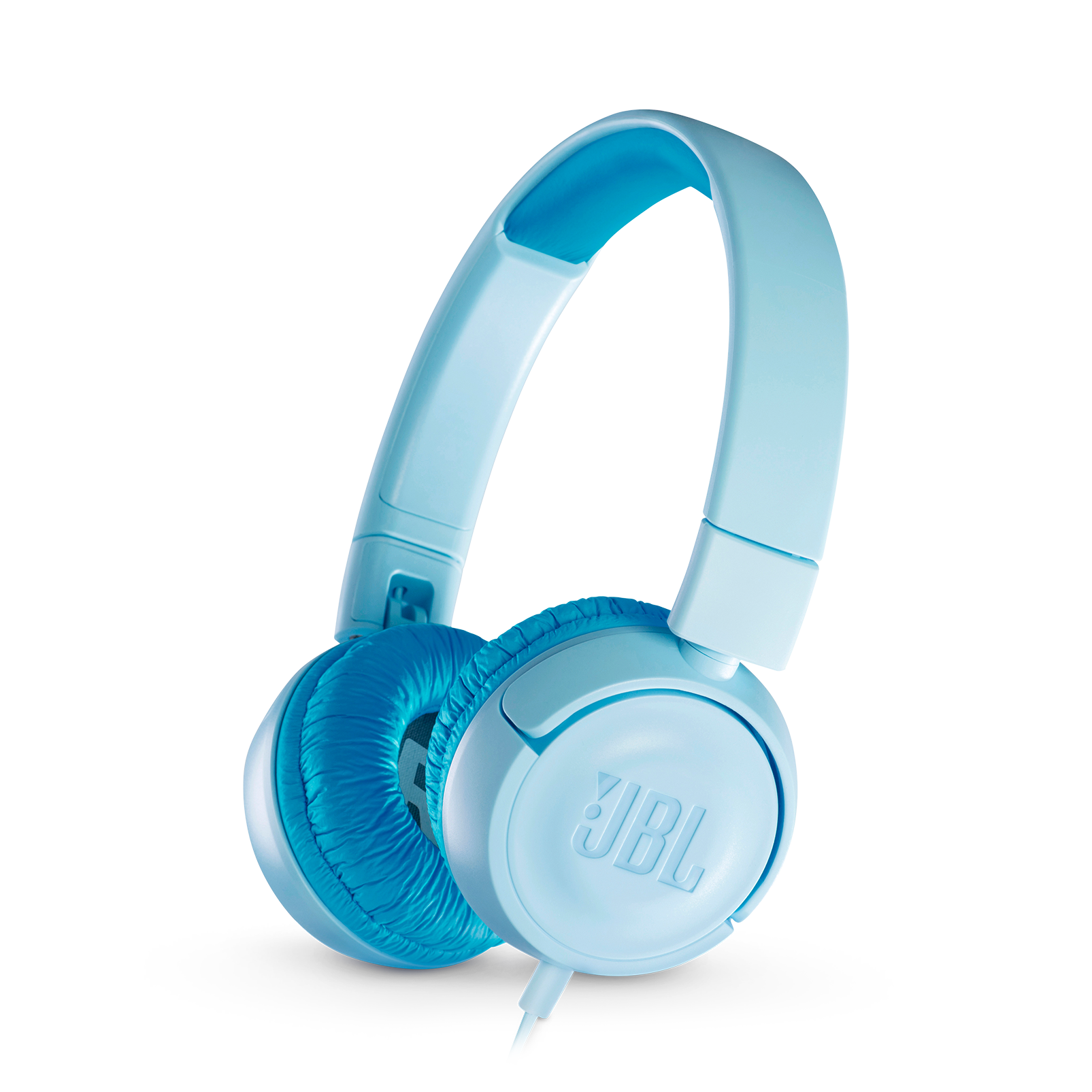 JBL JR300 - Ice Blue - Kids on-ear Headphones - Hero